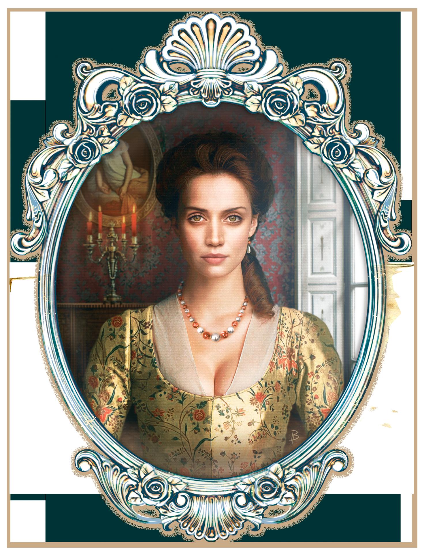 Novela Reina Negra - Gracia Josefina Eugenia de Valdés y La Tour